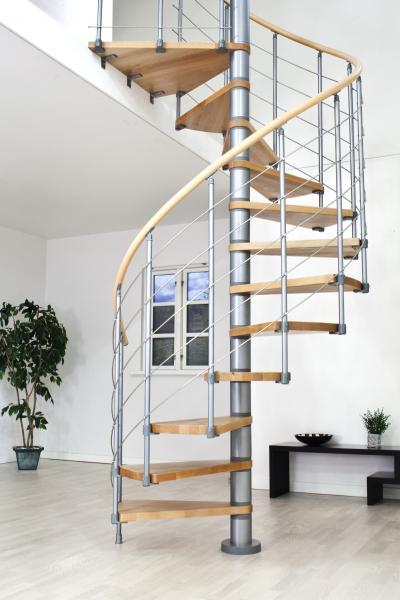 Horní zábradlí pro schody Oslo 1m starovací set