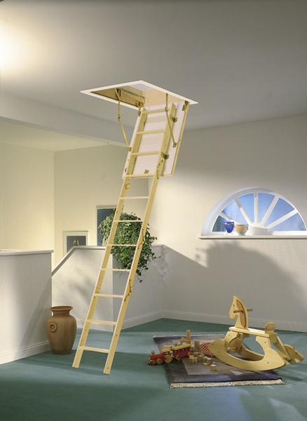 Půdní schody EXTRA+ 140x60, 332 cm