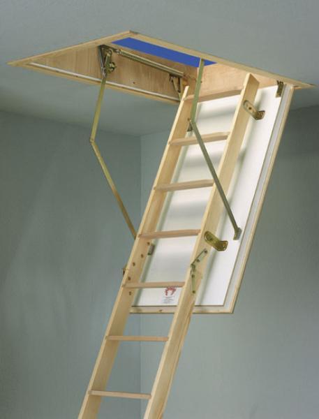 Půdní schody DOLLE F30+, 120x70, 287 cm