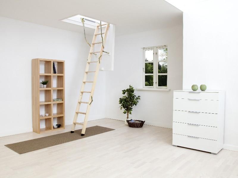 Půdní schody DOLLE Click FIX 76, 130x60, 274 cm