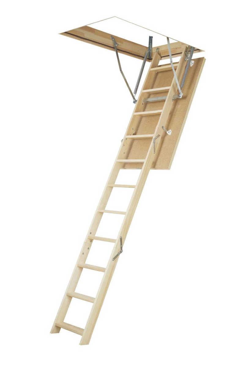 Půdní schody čtyřdílné FAKRO LWS-280 70x100