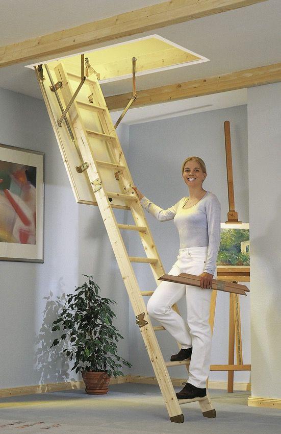 Půdní schody KOMPAKT 120x70